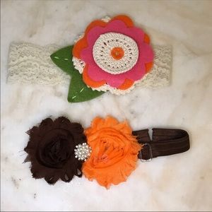 Other - Fall Floral Baby Headband BUNDLE